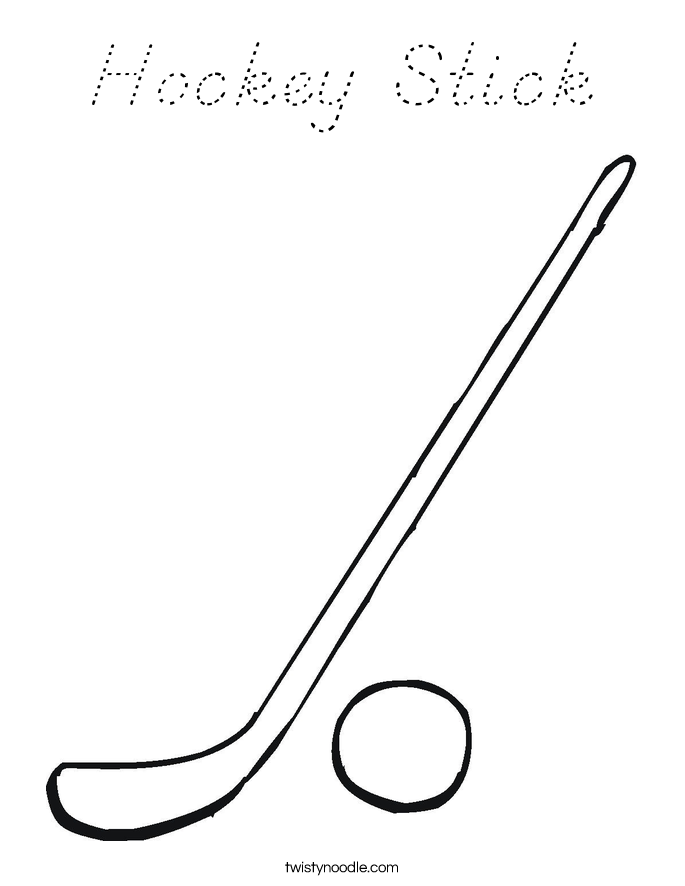 hockey stick coloring page hockey stick coloring page d39nealian twisty noodle coloring stick page hockey
