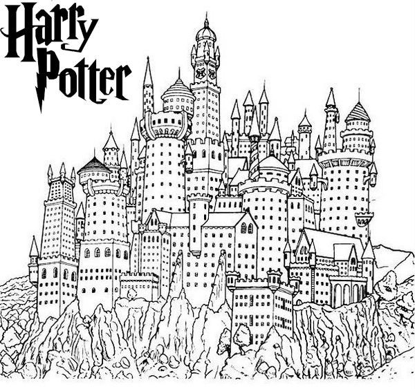 hogwarts castle coloring download hogwarts castle coloring for free designlooter hogwarts coloring castle