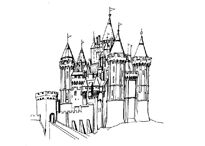 hogwarts castle coloring download hogwarts castle coloring for free designlooter hogwarts coloring castle 1 1