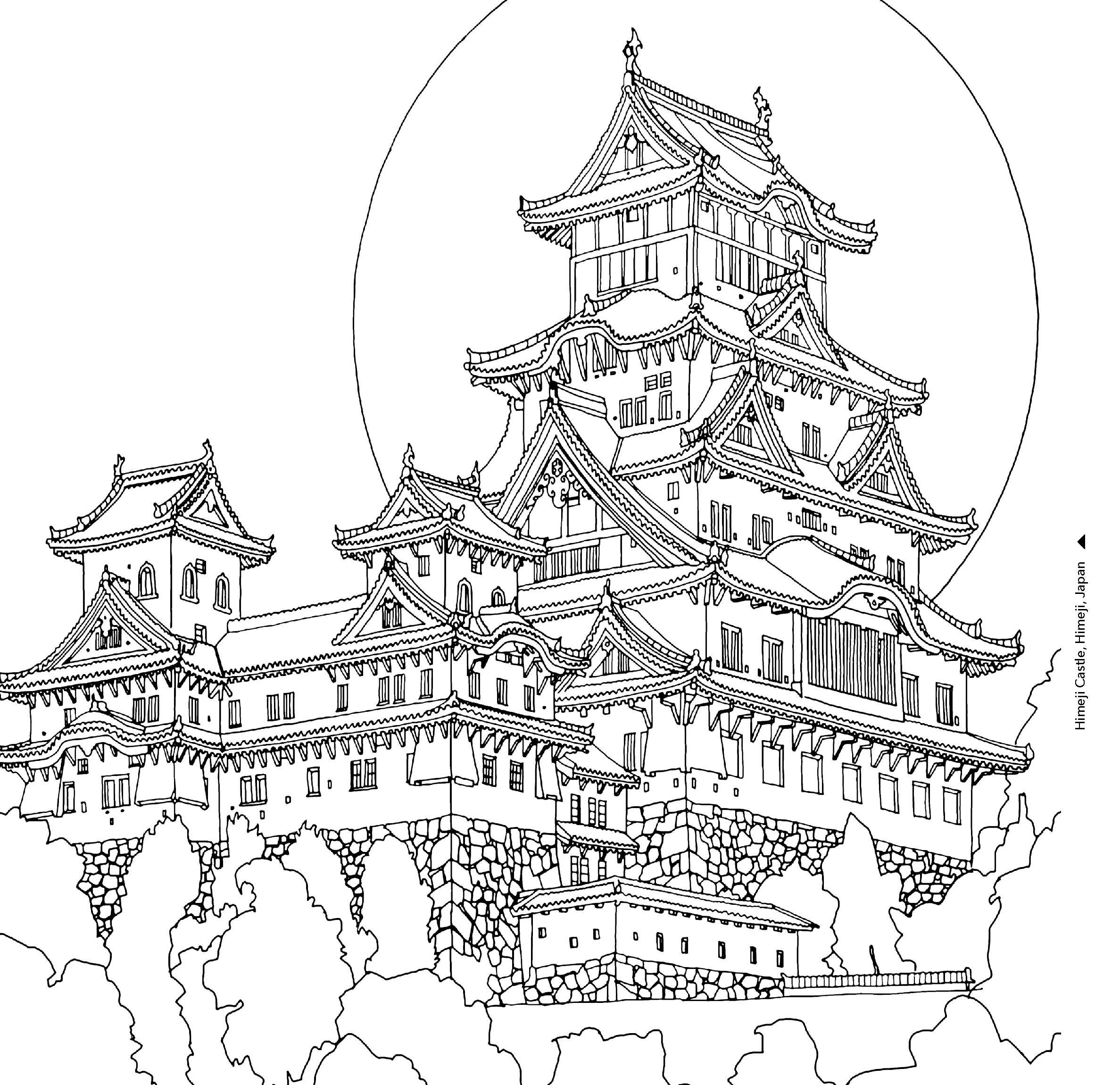 hogwarts castle coloring hogwarts castle coloring page from harry potter category coloring castle hogwarts