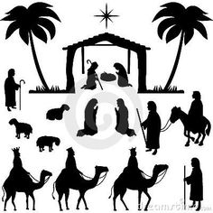 holy family silhouette clip art free nativity clipart silhouette banner 20 free cliparts art holy family clip silhouette