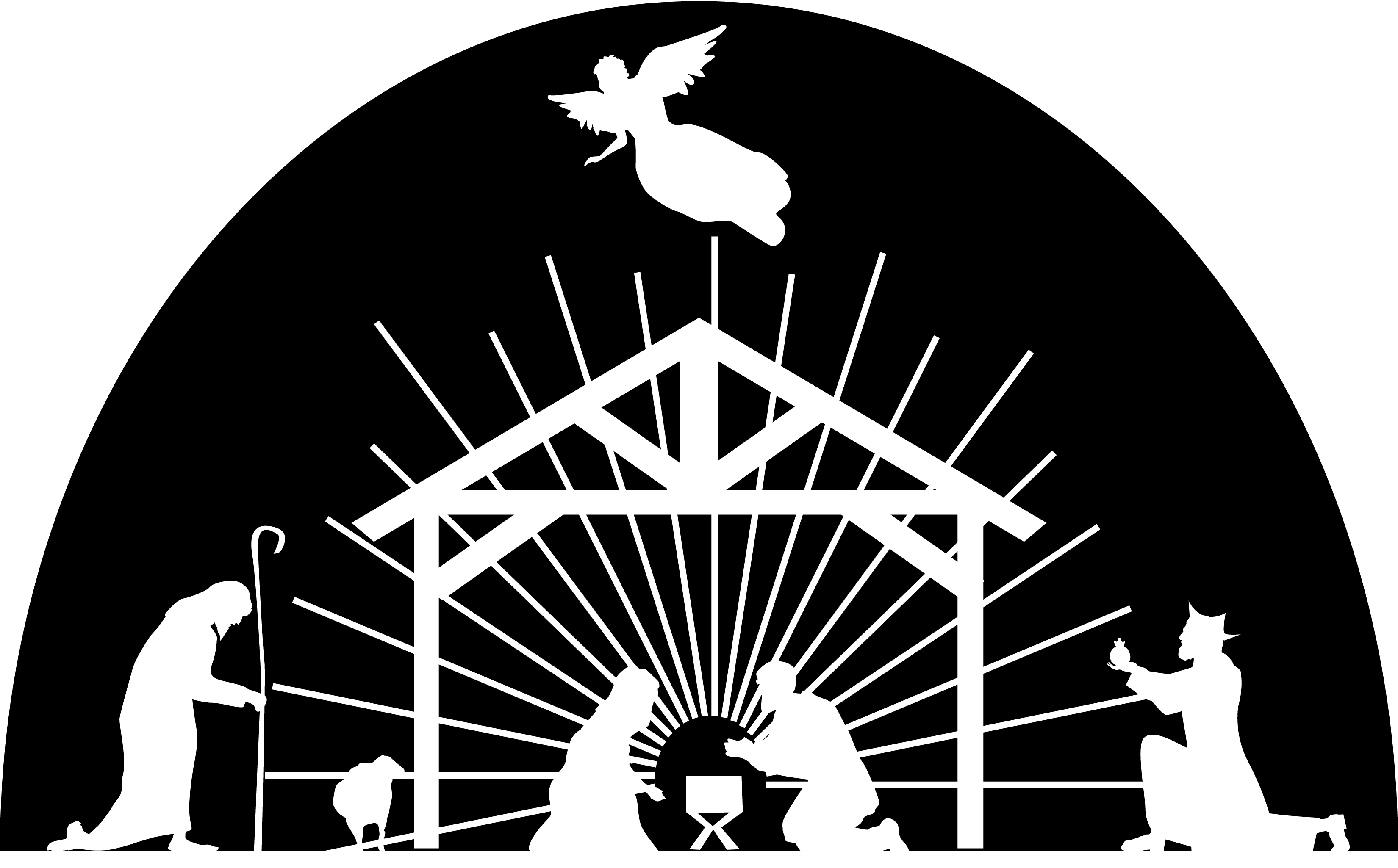 holy family silhouette clip art holy family silhouette at getdrawings free download clip silhouette art holy family