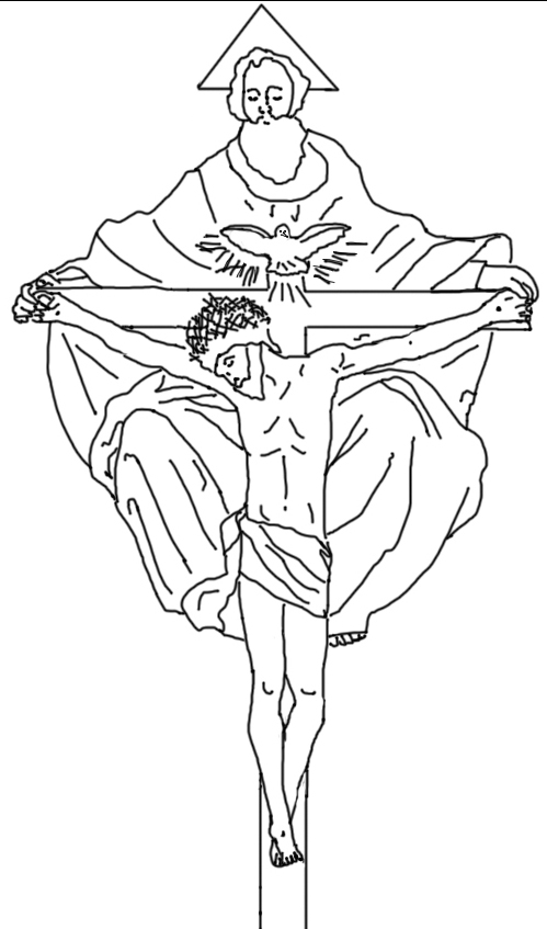 holy trinity coloring pages free holy spirit coloring page coloring home free coloring pages holy trinity