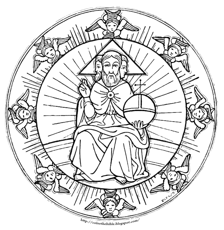holy trinity coloring pages free holy trinity catholic coloring page prep pinterest pages coloring trinity holy free