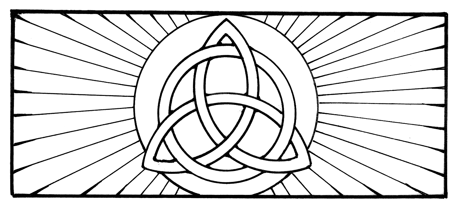 holy trinity coloring pages free holy trinity coloring page at getcoloringscom free coloring trinity pages free holy