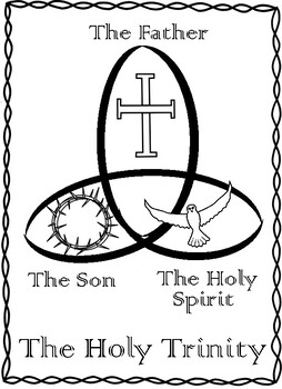 holy trinity coloring pages free holy trinity coloring page at getcoloringscom free holy free trinity pages coloring