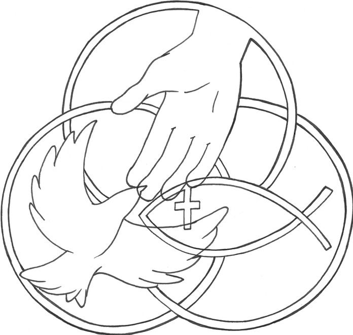 holy trinity coloring pages free holy trinity coloring page free printable pages sketch holy pages trinity coloring free