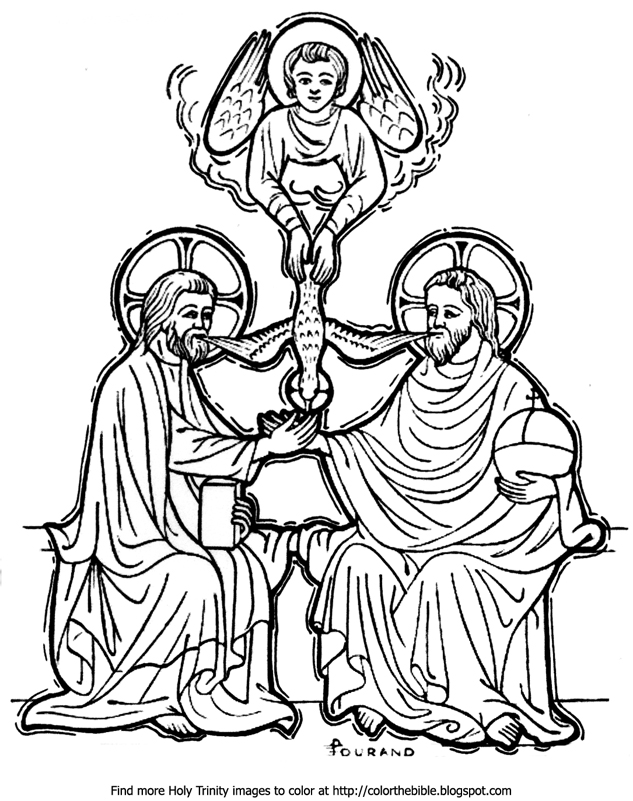 holy trinity coloring pages free holy trinity coloring page free printable pages sketch pages trinity holy coloring free