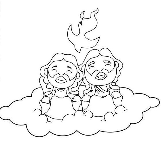 holy trinity coloring pages free search results for holy coloring pages on getcoloringscom trinity holy coloring free pages