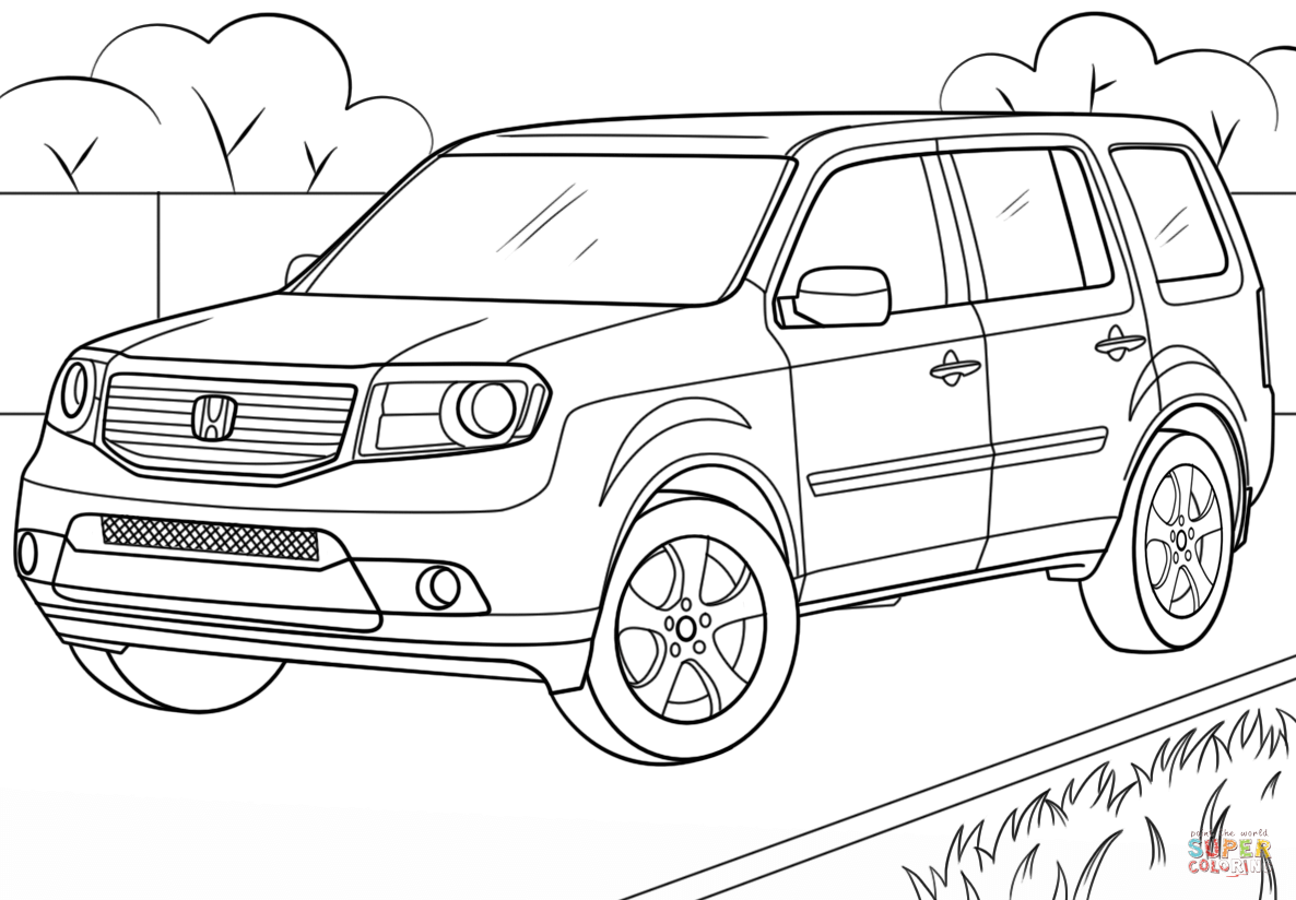 honda car coloring pages honda coloring pages to download and print for free honda car pages coloring