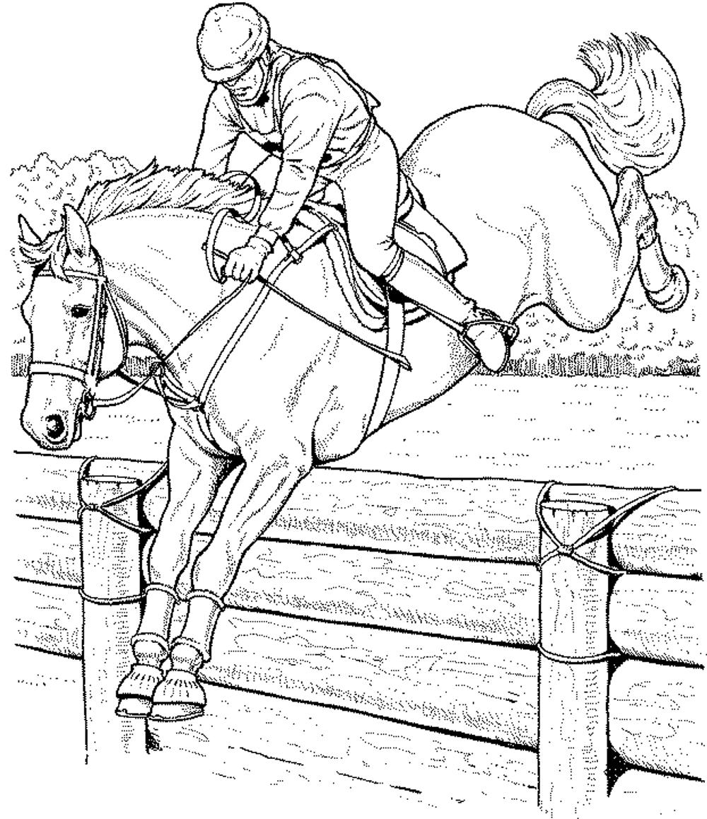 horse coloring pages for kids race horse coloring page coloring home kids pages for coloring horse