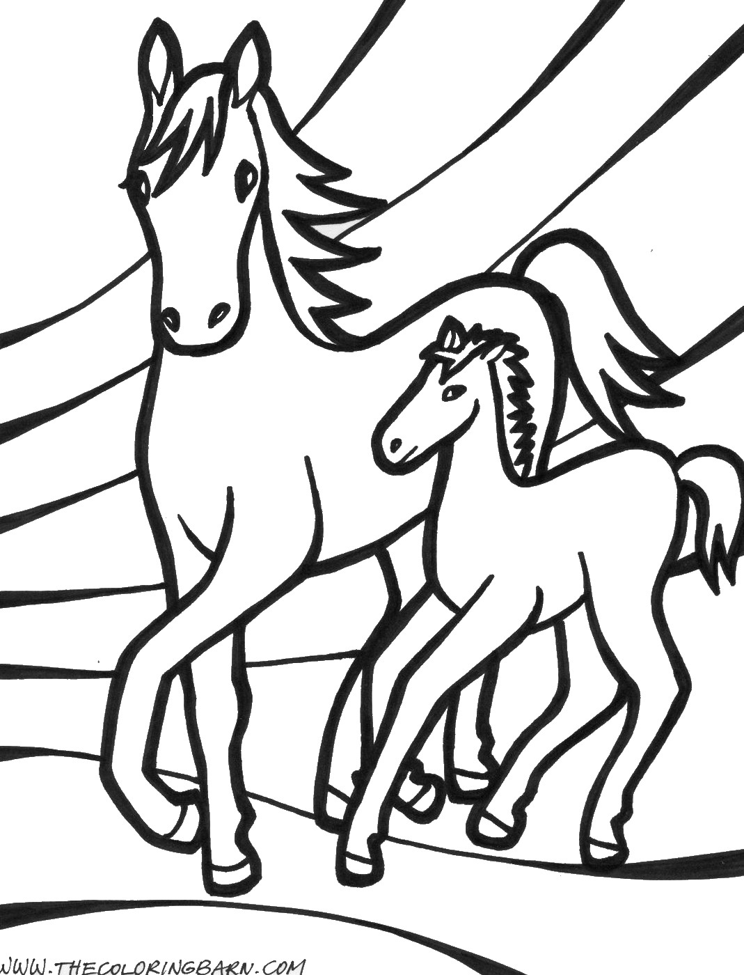 horse pics to color fun horse coloring pages for your kids printable pics color horse to