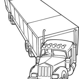 horse trailer coloring pages instant download pop up travel trailer in the woods horse coloring pages trailer