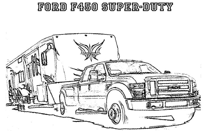 horse trailer coloring pages pickup with trailer car coloring page coloring pages pages horse trailer coloring