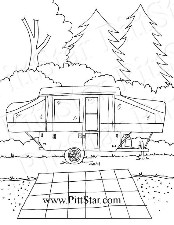 horse trailer coloring pages semi trailer truck coloring page for kids transportation horse trailer coloring pages