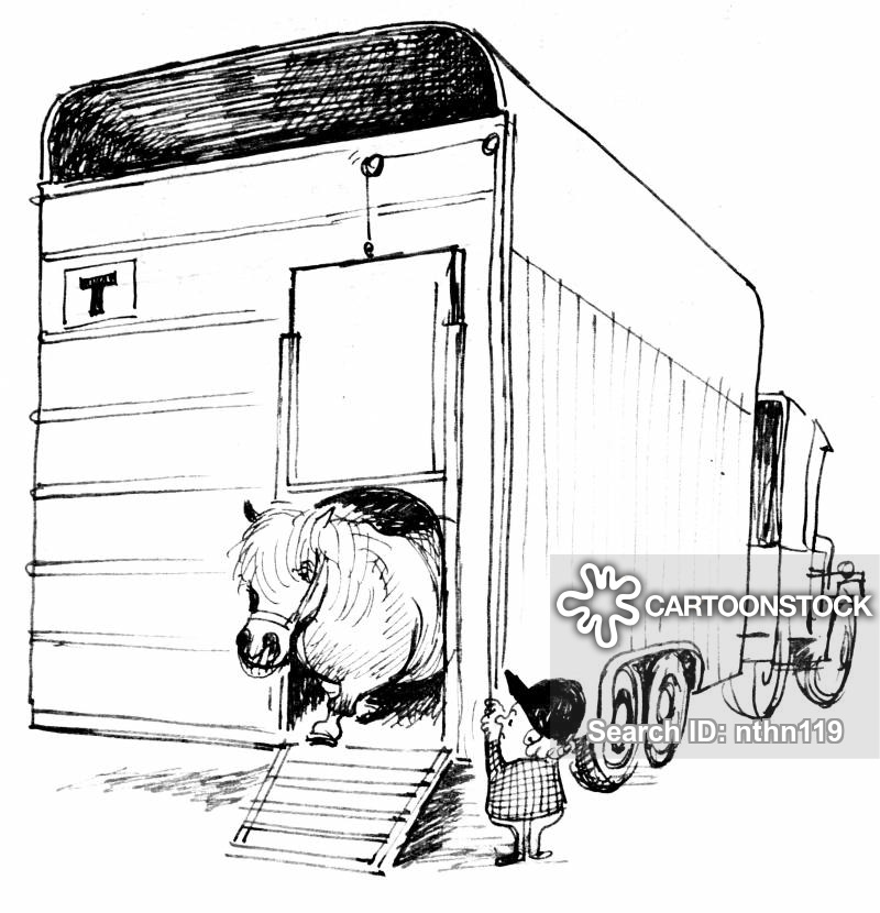 horse trailer coloring pages tractor trailer drawing at getdrawings free download horse trailer pages coloring