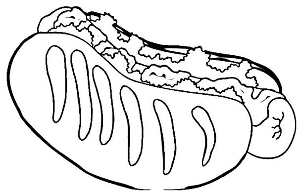 hot dog coloring how to draw hot dog coloring page coloring sky coloring dog hot