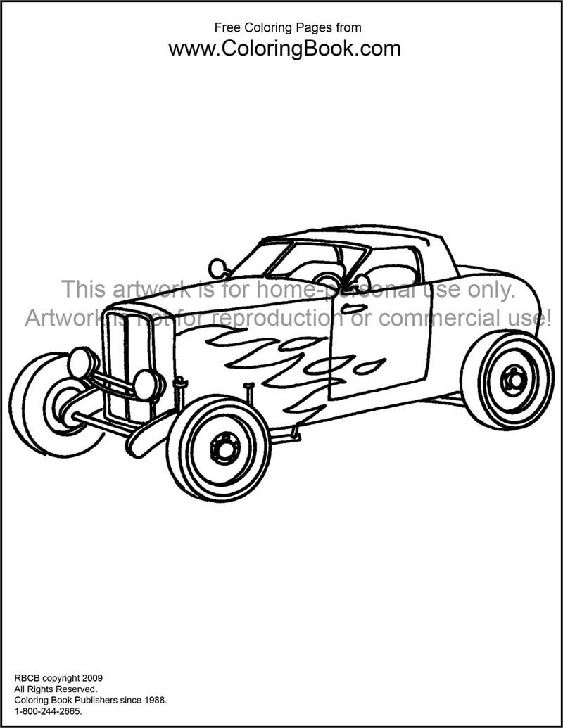 hot rod coloring sheets a fast classic hot rod roadster coloring page free for coloring rod hot sheets