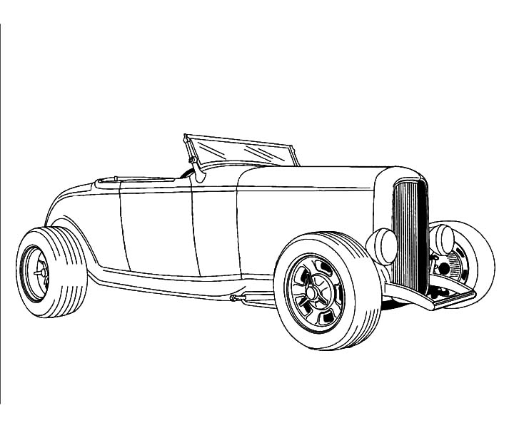 hot rod coloring sheets hot rod car coloring pages at getcoloringscom free hot sheets coloring rod