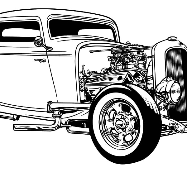 hot rod coloring sheets hot rod coloring pages to download and print for free sheets hot coloring rod