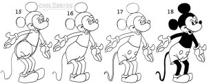 how draw mickey mouse step by step how to draw mickey mouse step by step drawing tutorials how step mickey step mouse by draw