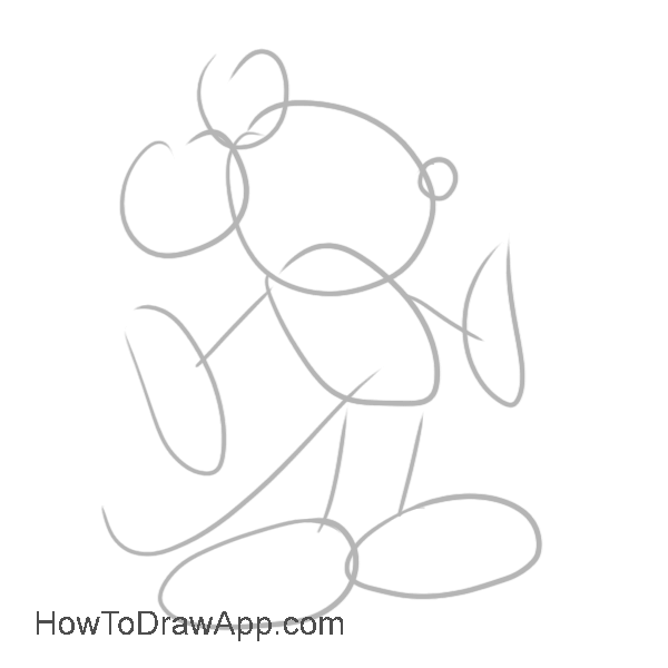 how draw mickey mouse step by step learn how to draw mickey mouse step by step easy drawing how step draw step mouse by mickey