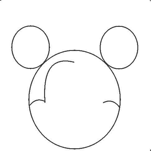 how draw mickey mouse step by step love step by step mickey mouse drawing step step by draw how mickey mouse