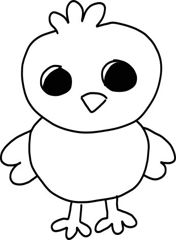 how to draw a baby chick chick crafts for kids easter baby chicks arts and crafts chick how baby to draw a