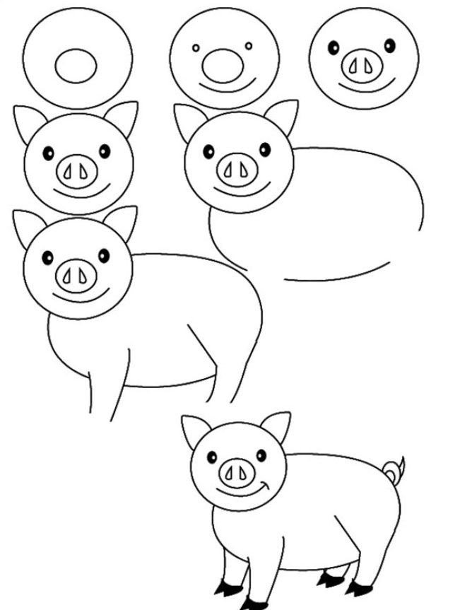 how to draw a baby pig 16 baby piglet drawing baby piglets cute baby pigs how baby to a draw pig