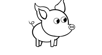 how to draw a baby pig baby pigs drawings bing images artanimal drawing a pig how draw baby to