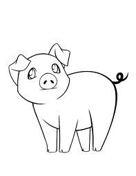 how to draw a baby pig how to draw a pig drawings art birthday baby animals songs to a baby draw how pig