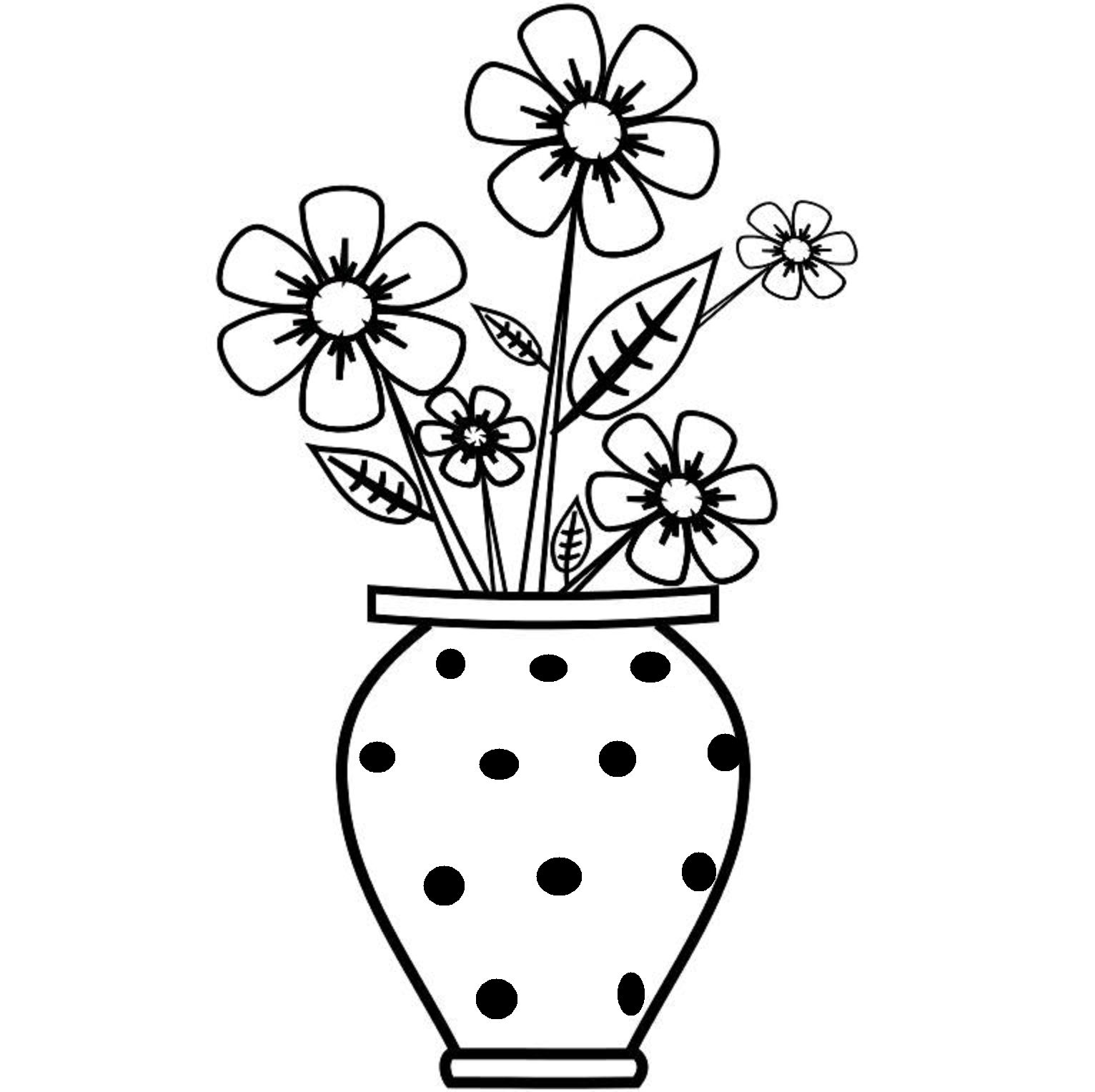 how to draw a bouquet of flowers in a vase flower bouquet in vase coloring page color luna flower how in a a vase to flowers bouquet of draw