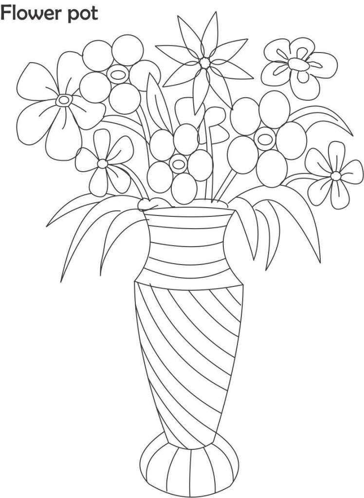 how to draw a bouquet of flowers in a vase flower in vase drawing at getdrawings free download flowers vase bouquet of a draw a how to in
