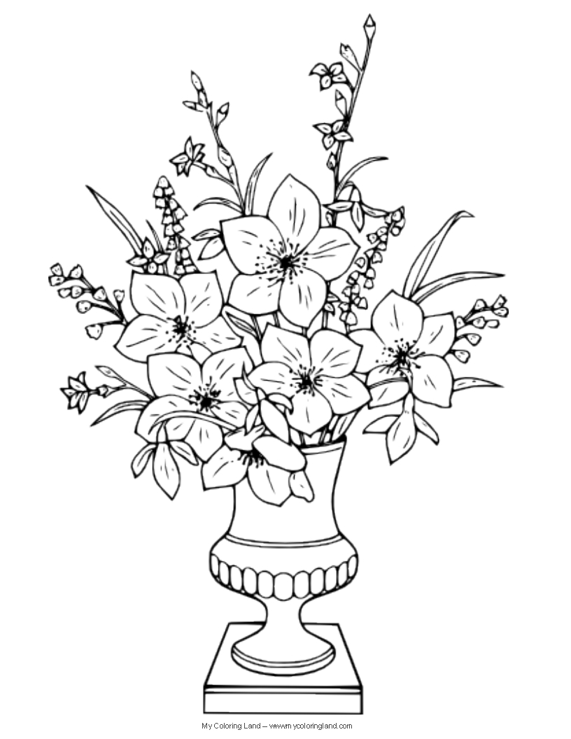 how to draw a bouquet of flowers in a vase incoming h4gtpencil art images flowersflower vase how flowers to draw a bouquet in of vase a