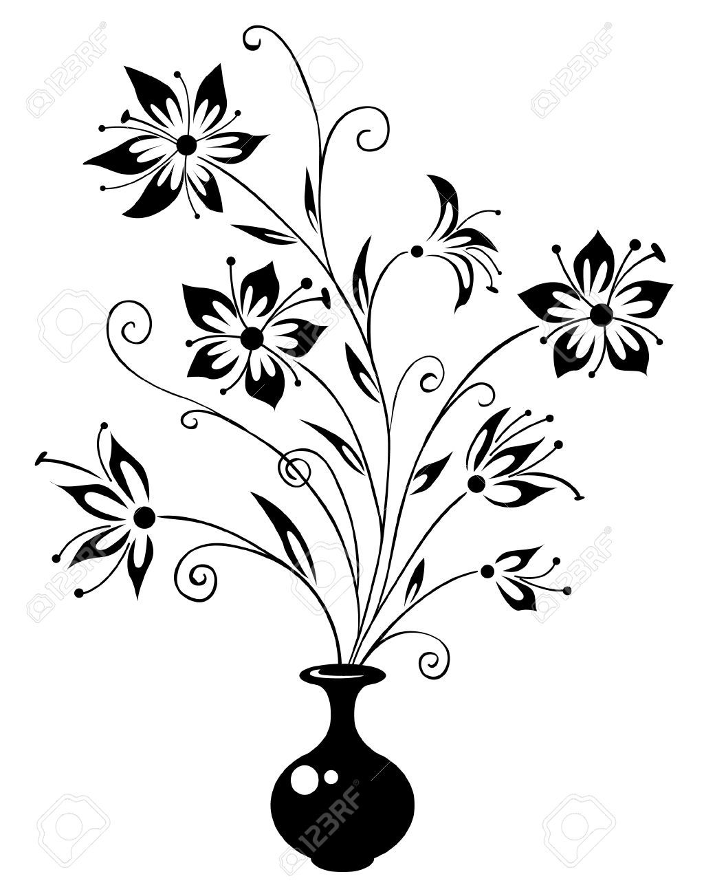 how to draw a bouquet of flowers in a vase the 25 best flower bouquet drawing ideas on pinterest how to a draw flowers of vase bouquet in a