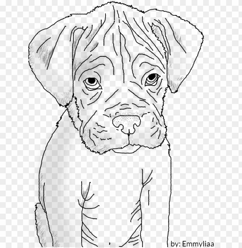 how to draw a boxer step by step download boxer puppy lineart by emmyliaa on deviantart to a boxer step step how draw by