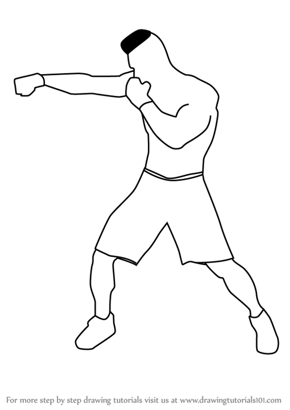 how to draw a boxer step by step how to draw a boxer for beginners in 2020 drawing people draw by step boxer a step how to
