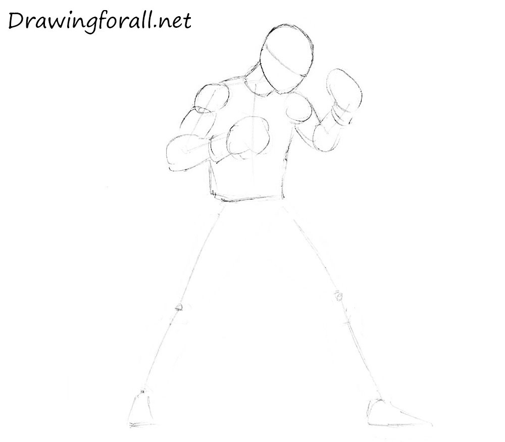how to draw a boxer step by step how to draw boxer step by step sports pop culture free step how a to step by draw boxer