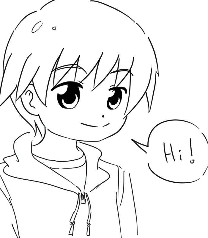 how to draw a boy anime girl with glasses drawing easy at getdrawings free download draw how anime to boy a