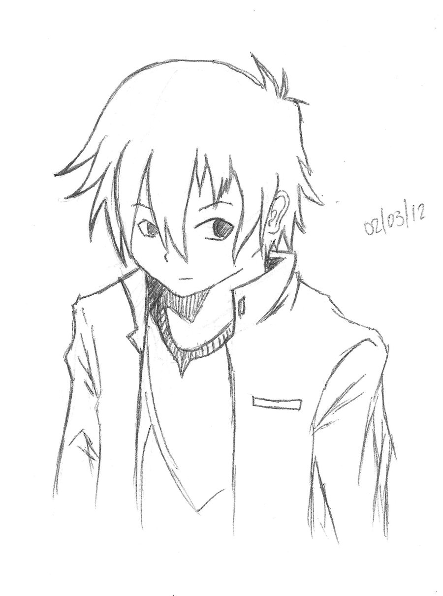 how to draw a boy anime manga boy drawing at getdrawings free download anime how to draw a boy