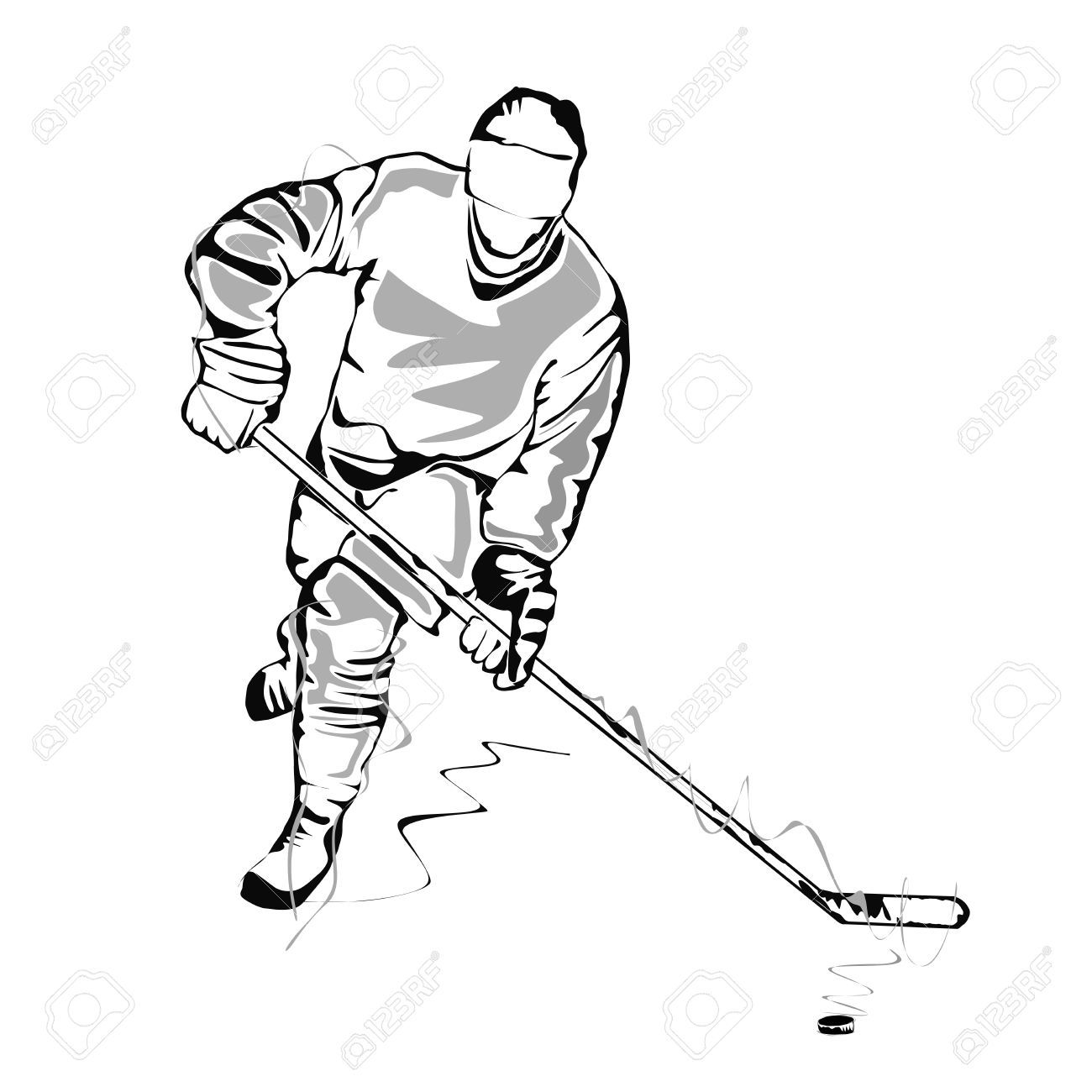 how to draw a cartoon hockey player field hockey drawing at getdrawings free download player a hockey draw how cartoon to