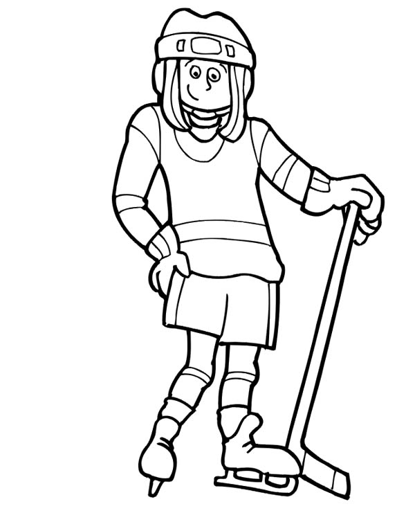 how to draw a cartoon hockey player hockey drawing at getdrawings free download how cartoon hockey to a draw player