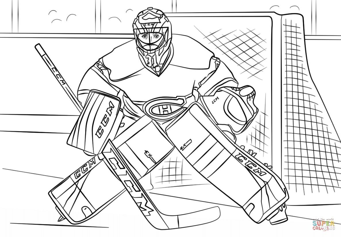 how to draw a cartoon hockey player hockey goalie clipart black and white 20 free cliparts how to hockey a cartoon draw player