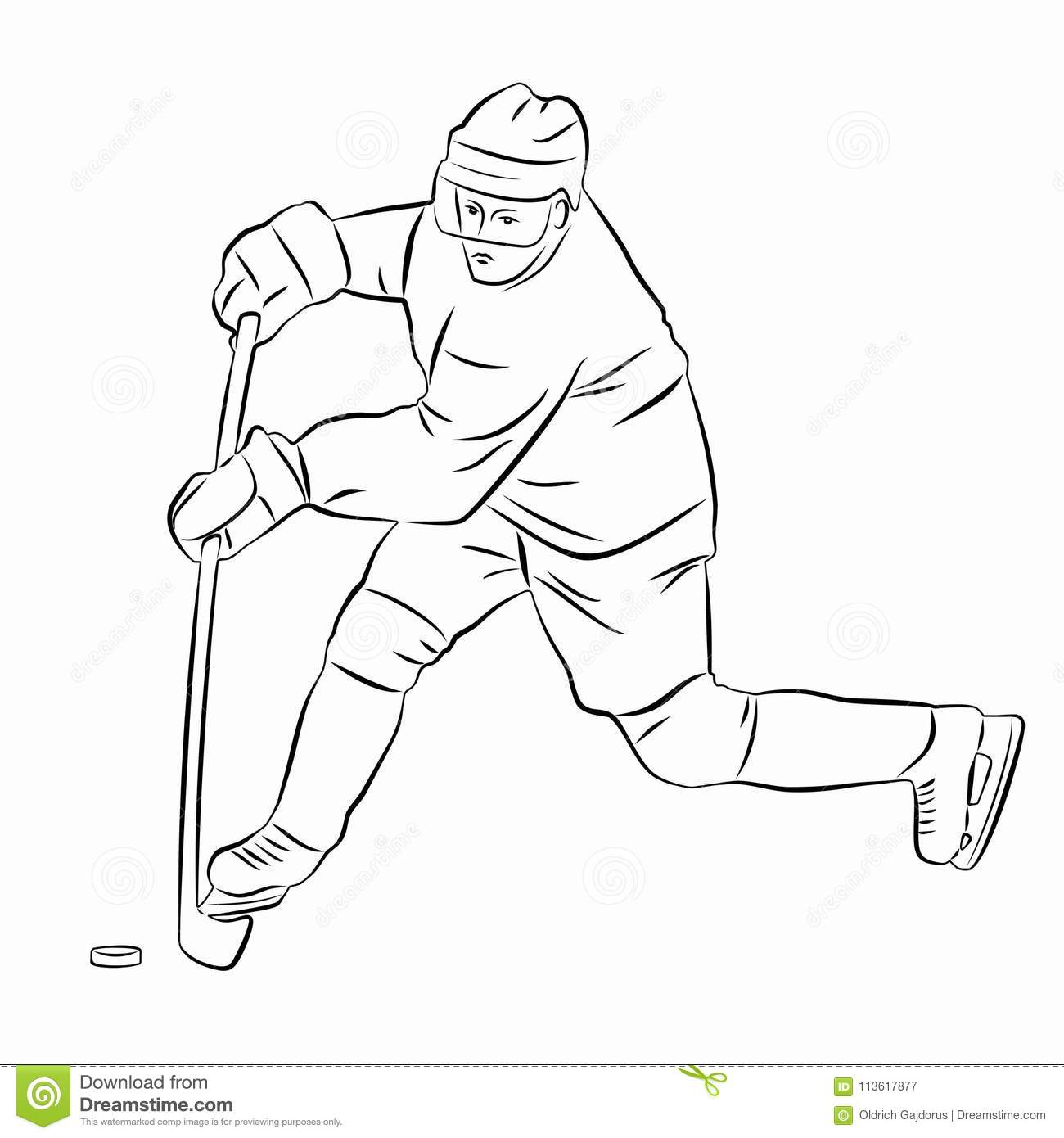how to draw a cartoon hockey player hockey goalie drawing at getdrawings free download player draw to a cartoon hockey how