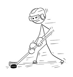 how to draw a cartoon hockey player hockey player drawing at getdrawings free download to hockey player draw how cartoon a