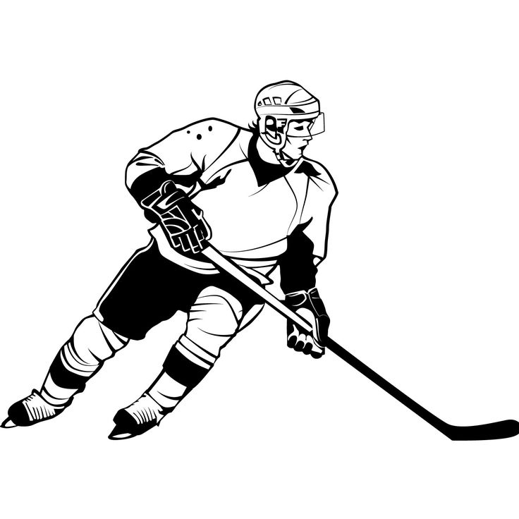 how to draw a cartoon hockey player hockey players drawing at getdrawings free download player to a cartoon how draw hockey