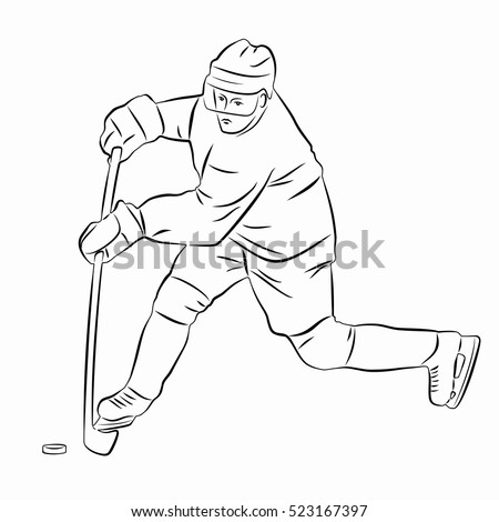 how to draw a cartoon hockey player hockey rink drawing at getdrawings free download player hockey how draw a to cartoon