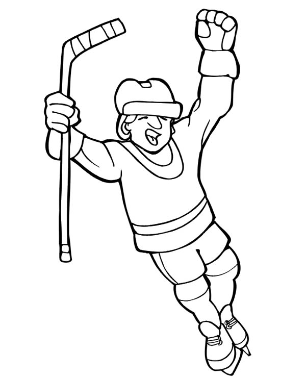 how to draw a cartoon hockey player hockey skate drawing at getdrawings free download a draw cartoon player hockey how to