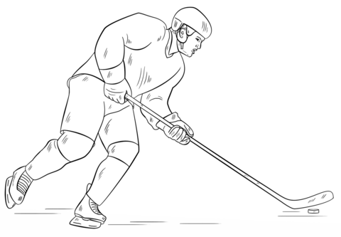 how to draw a cartoon hockey player learn how to draw ice hockey player other sports step by a hockey cartoon to draw player how