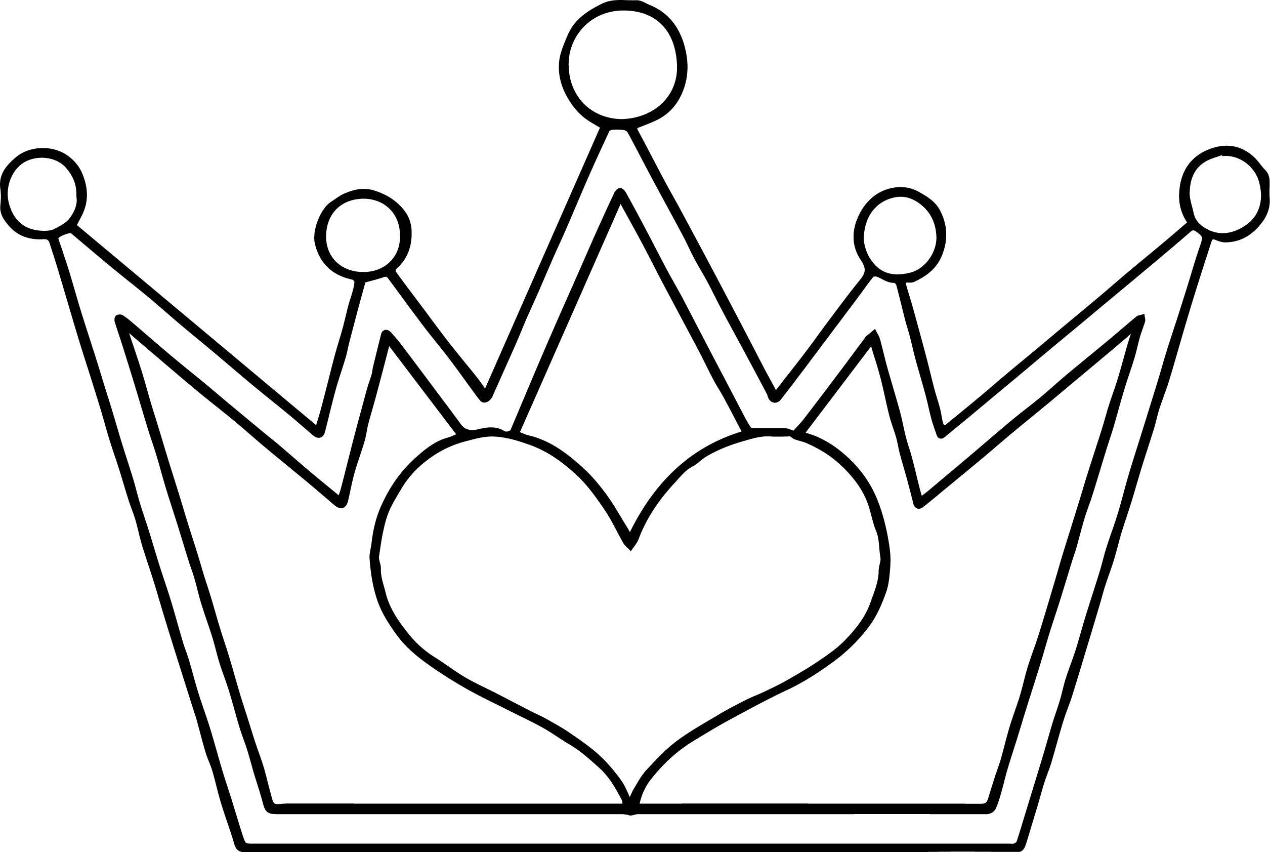 how to draw a crown easy drawing princess crown at paintingvalleycom how crown draw to a